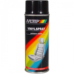 Vinyl spray (black) - Motip Vinylspray, 400ml. ― AUTOERA.CO.UK