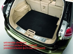 Textile trunk mat  Land Rover Range Rover Vogue (2002-2010), black ― AUTOERA.CO.UK