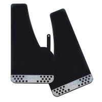 Rally-Sport, universal mudflaps front/rear - Black