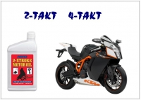 Two, four stroke oils