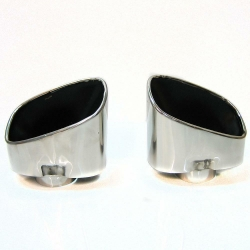 Muffler pipe end, 2pcs. for VW Touareg 2.5Tdi / BMW E70 3.0D ― AUTOERA.CO.UK