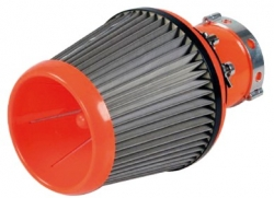 Super-Charge, stainless-steel sport air-filter, max. d-150mm  ― AUTOERA.CO.UK