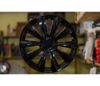 Hubcap set  - DELTA BLACK, 14""