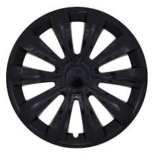 "Hubcap set  - DELTA BLACK, 14""  ― AUTOERA.CO.UK"