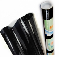 Solar film SUPER DARK BLACK (~85%), 3m X 0,75m ― AUTOERA.CO.UK