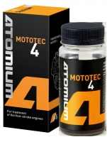ATOMIUM MOTOTEC-4 100   - four stroke engines oil additivive