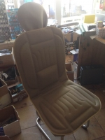 2x Front seat covers, beige
