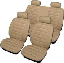 Seat covers set for Pokrowce B (Midi), textile, beige ― AUTOERA.CO.UK