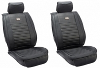 2x Leather imitation front seat covers