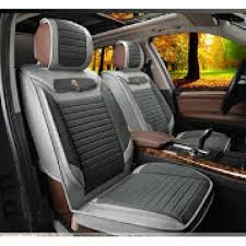 2x Leather imitation front seat covers, universal fit ― AUTOERA.CO.UK