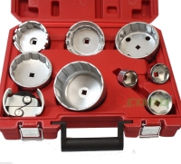 Oil Filter Cap Wrench Set, 9pc